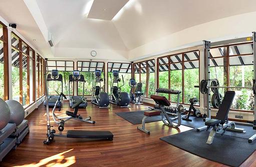Fitnesscenter, The Sun Siyam Iru Fushi, Maldives