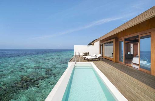 Over Water Villa Pool, The Westin Maldives Miriandhoo Resort