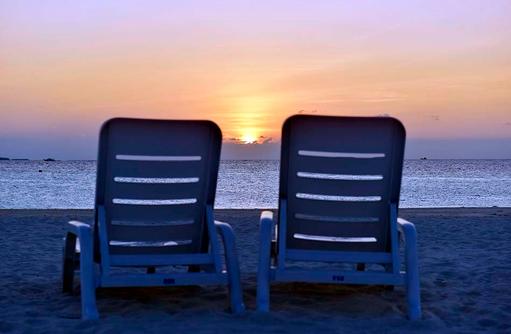 Sonnenuntergang, Thulhagiri Island Resort, Maldives