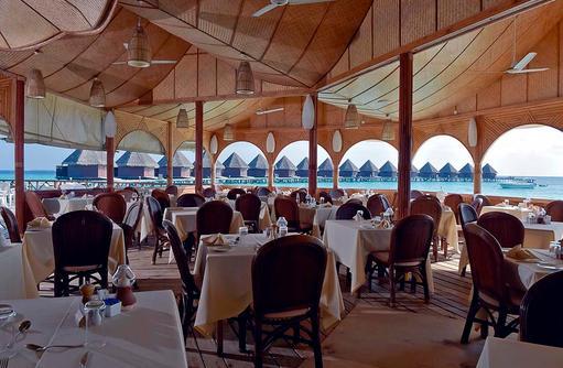 Hauptrestaurant, Thulhagiri Island Resort, Maldives