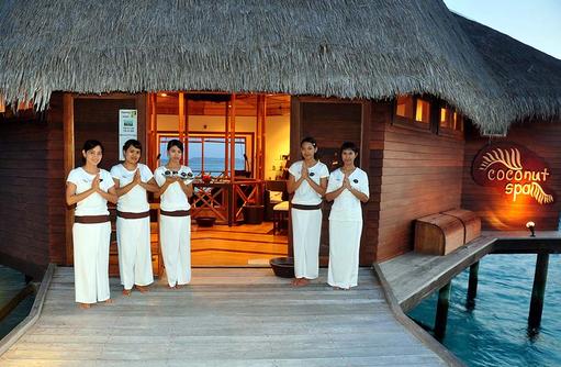 Coconut Spa, Thulhagiri Island Resort, Maldives