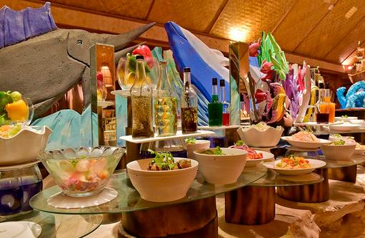 Buffet, Thulhagiri Island Resort, Maldives