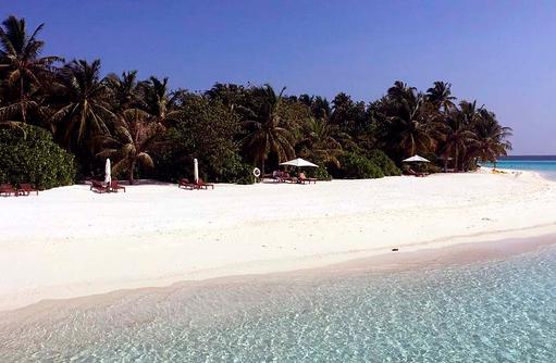 Strandbereich,Vakarufalhi Island Resort, Maldives