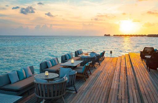 Sunset Lagoon Bar, Vakkaru Maldives