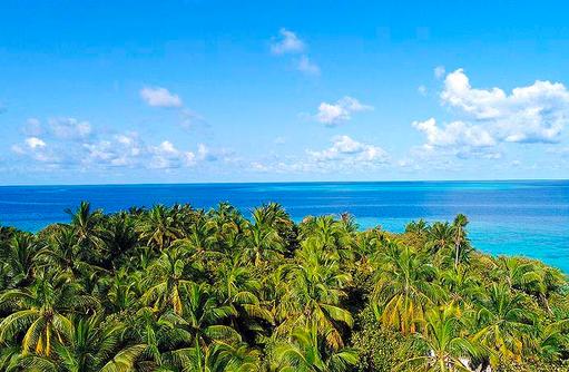 Urlaub wie Robinson Crusoe, Vakkaru, Maledives