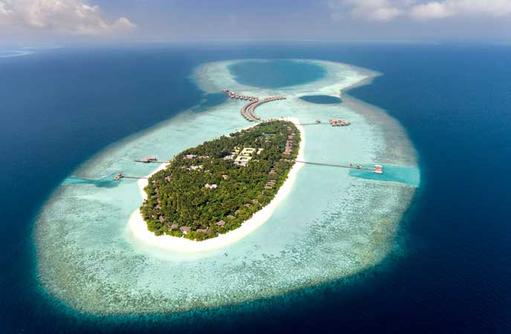 Aerial, Vakkaru Maldives