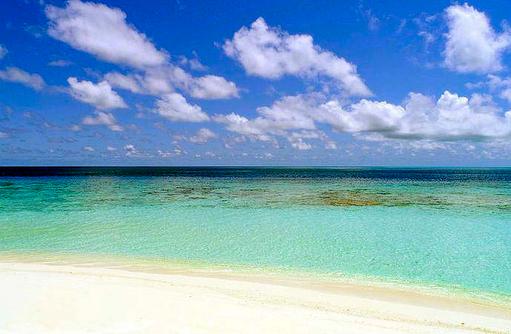 türkisblauer Indischer Ozean, Vakkaru, Maledives