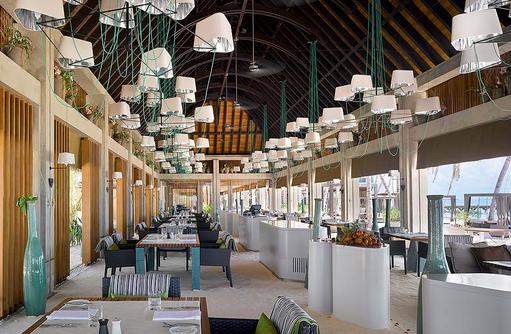 Athiri Restaurant, Innenbereich, Velaa Private Island Maldives
