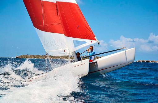 Katamaransegeln, Wassersport, Velaa Private Island Maldives