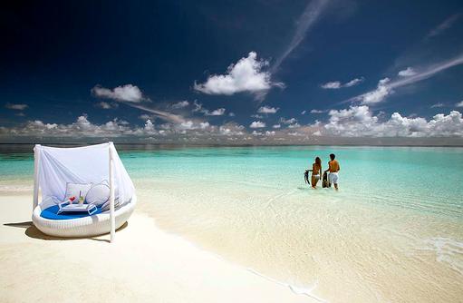 Schnorcheln am Hausriff,  Velassaru Maldives