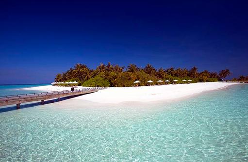 Strandabschnitt, Velassaru Maldives