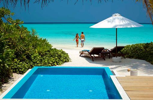 Beach Villa mit Pool,Velassaru Maldives