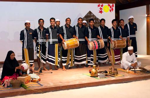 Kulturelle Show, Vilamendhoo Island Resort, Maldives