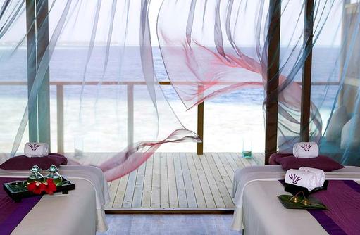 Massagebereich im Spa, Vilamendhoo Island Resort, Maldives
