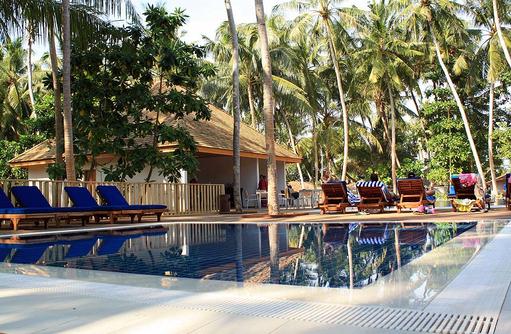 Kinderpool, Vilamendhoo Island Resort, Maldives