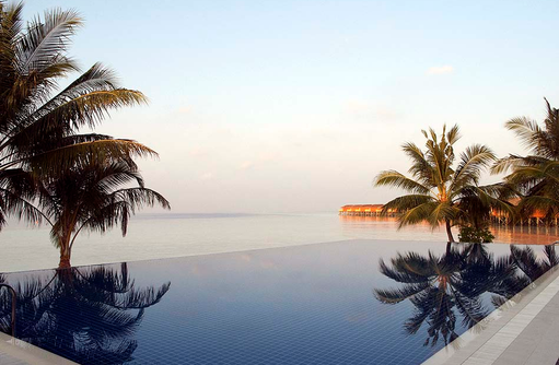 Pool,  Vilamendhoo Island Resort, Maldives