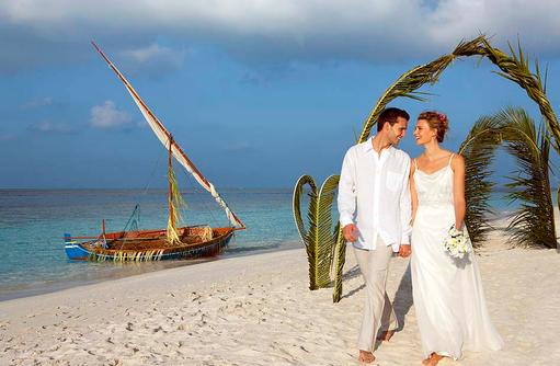 Hochzeit am Strand, Vilamendhoo Island Resort, Maldives