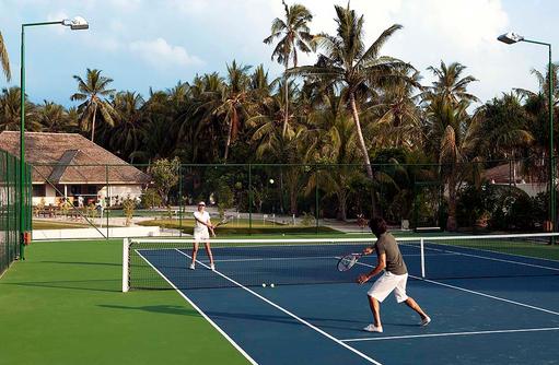 Tennisplatz, Vilamendhoo Island Resort, Maldives