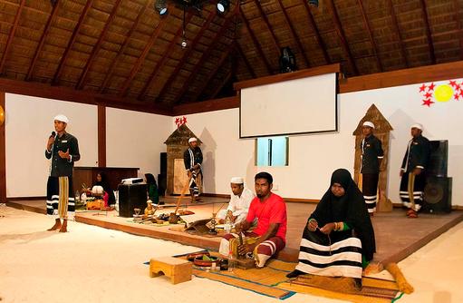Kulturelle Dance Show, Vilamendhoo Island Resort, Maldives