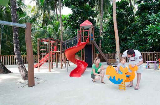 Kinderspielplatz, Vilamendhoo Island Resort, Maldives