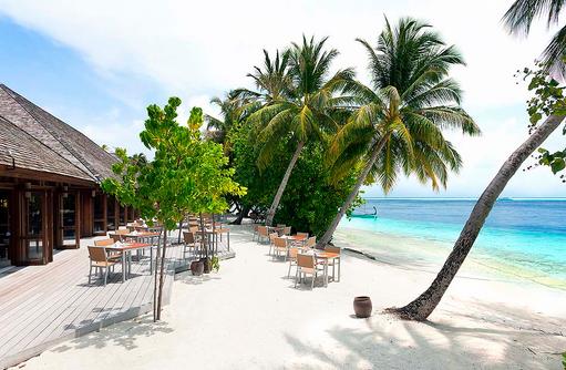 Funuma Restaurant am Strand, Vilamendhoo Island Resort, Maldives