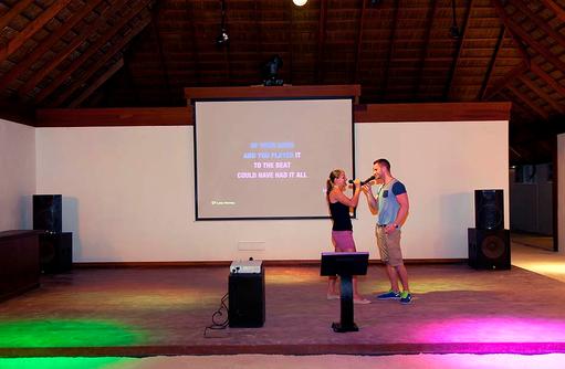 Karaoke, Vilamendhoo Island Resort, Maldives