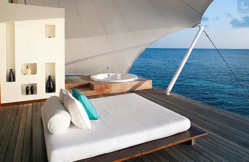 AWAY® Spa, Daybed, Terrasse, W Retreat & Spa Maldives