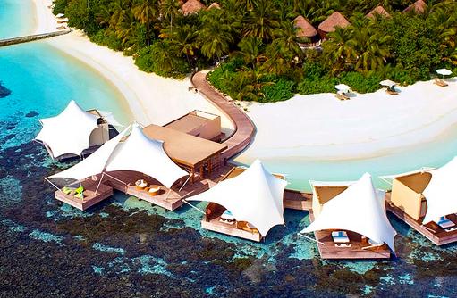 Away Spa, von oben, W Retreat & Spa Maldives