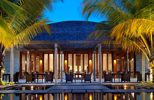 KITCHEN, Terrasse, W Retreat & Spa Maldives