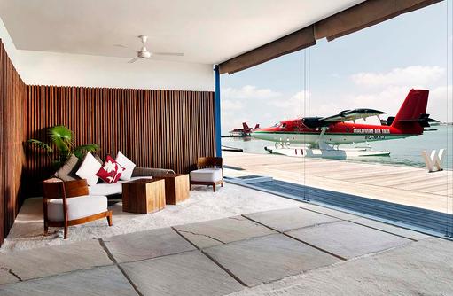 Lounge, Wasserflugzeug Terminal, W Retreat & Spa Maldives
