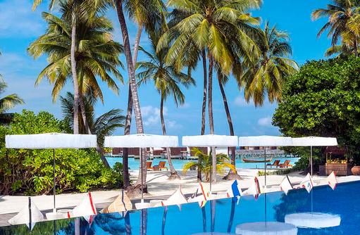WET® pool bei Tag, W Retreat & Spa Maldives