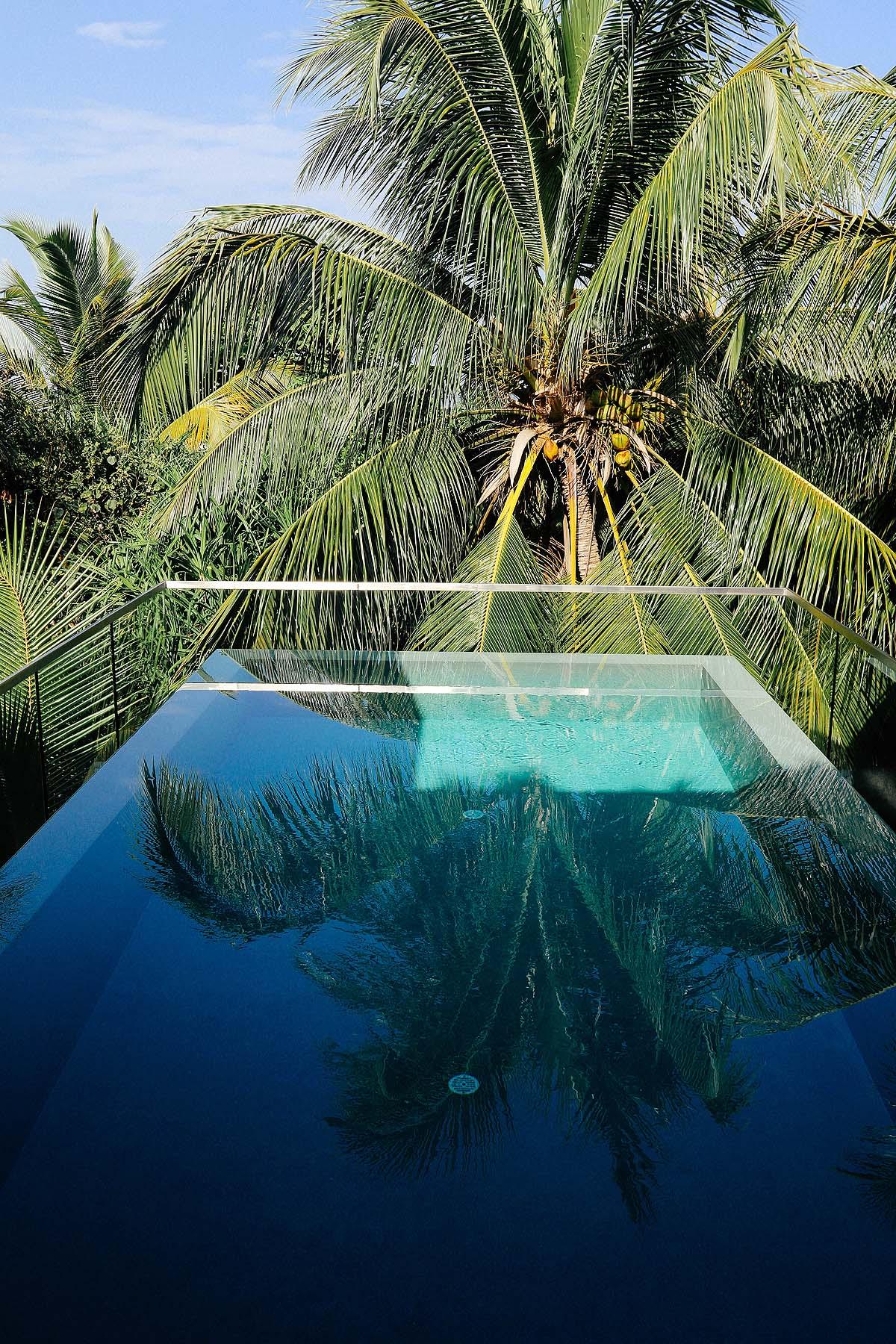 Pool des Wellness Tree Houses