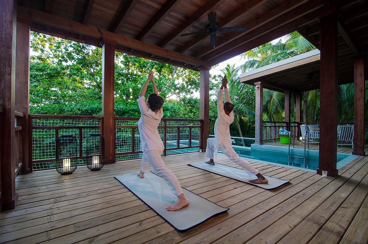 Yoga im Treehouse