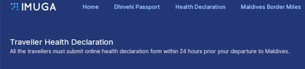 Einreise auf die Malediven beantragen