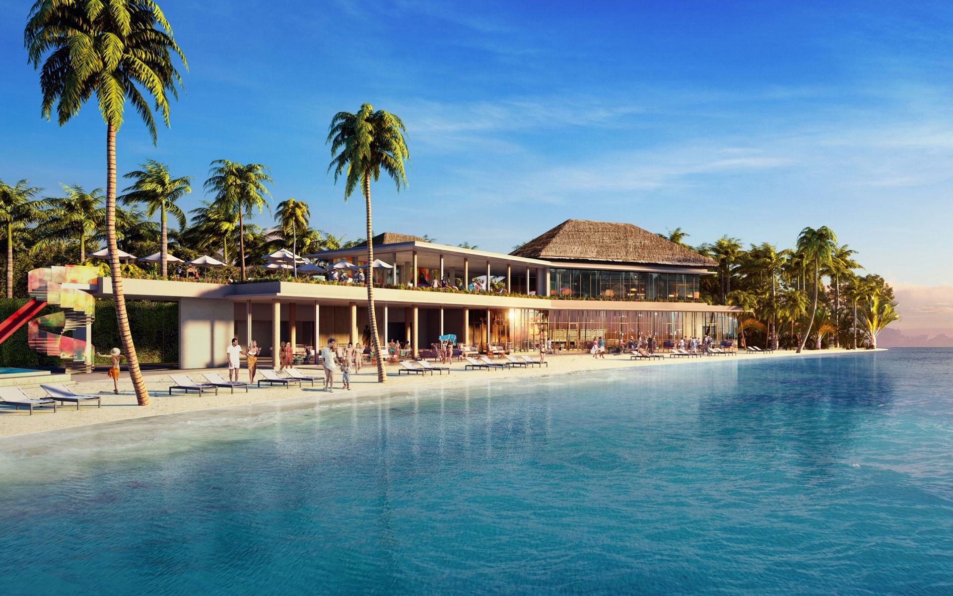 Beach Club, Hard Rock Hotel Malediven
