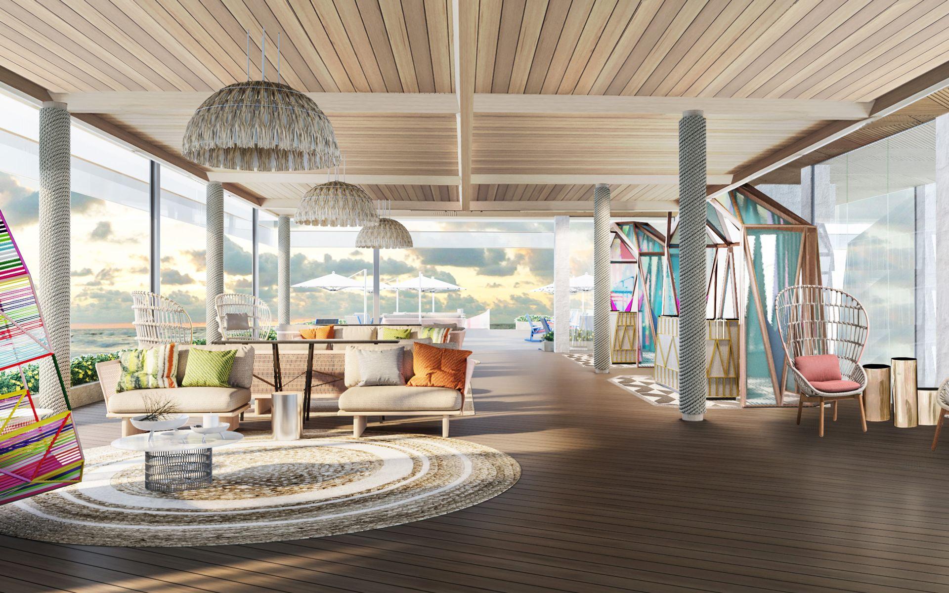 Lounge, Hard Rock Maldives