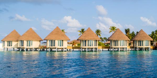 SPA Kabinen des Interconti Maldives