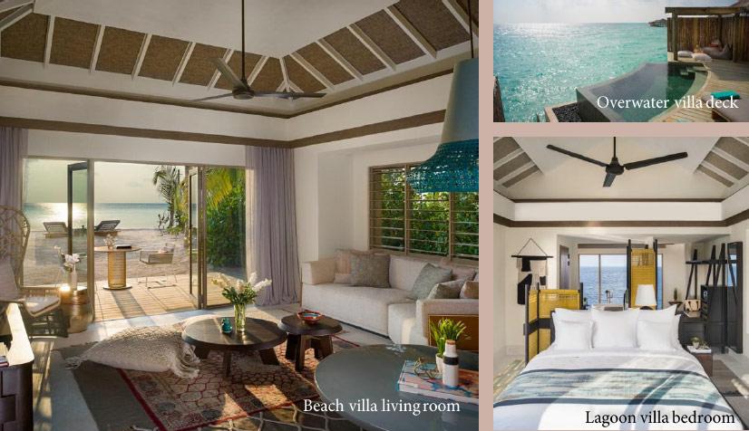 Villen und Residenzen des InterConti Maldives
