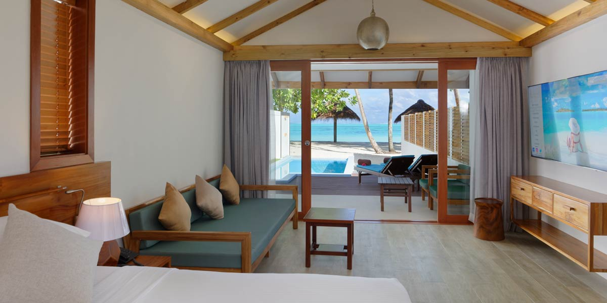 Wohnen, Beach Pool Villas, Sun Island Resort & SPA