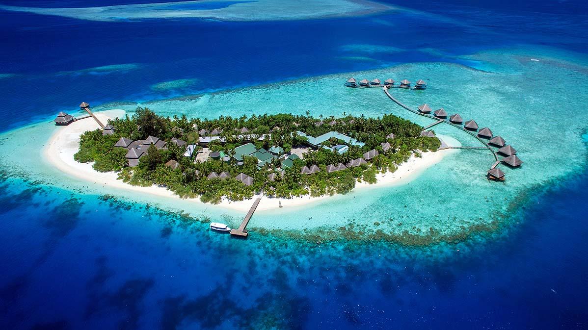 Luftaufnahme | Adaaran Club Rannalhi
