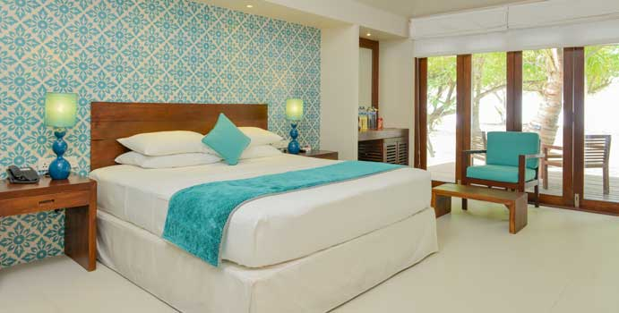 Schlafen/Wohnen, Beach Villa | Adaaran Select Hudhuranfushi