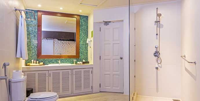 Badezimmer, Family Beach Villa | Adaaran Select Hudhuranfushi