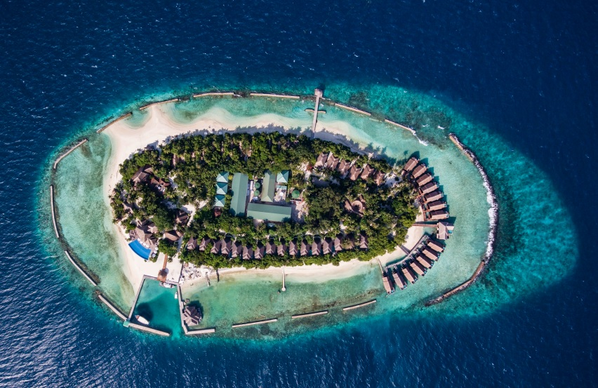 Lageplan Amaya Kuda Rah Maldives
