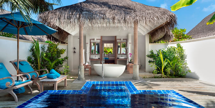 Sunset Pool Villa| Anantara Dhigu Maldives Resort