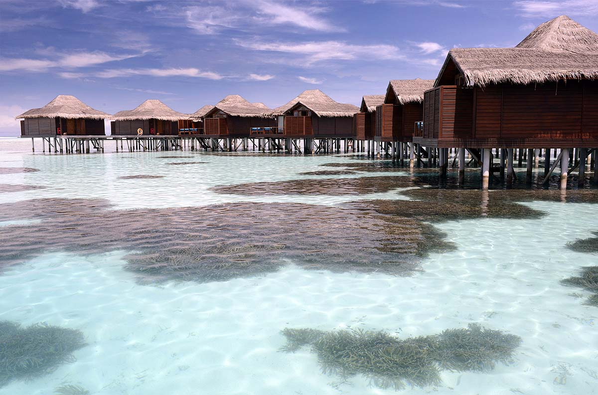 Water Bungalows, Haus auf Stelzen, Anantara Veli Maldives Resort