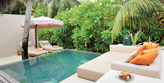 Private Pool, Beach Villas, Ayada Maldives