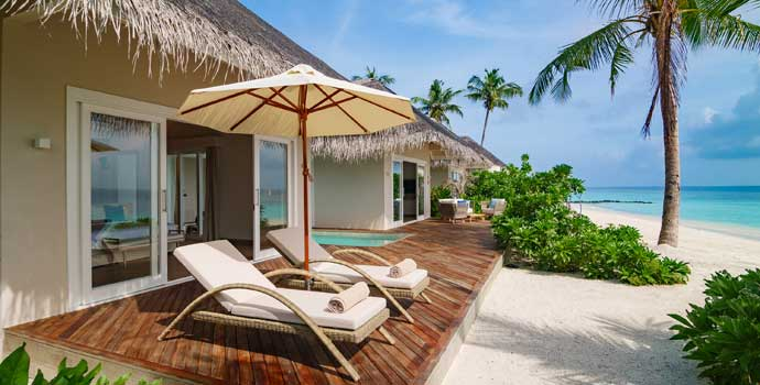 Pool Suite Beach Villa, Baglioni Resort Maldives