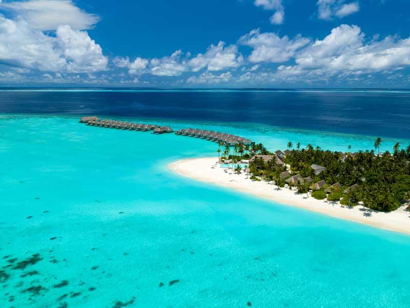 Aerial, Baglioni Resort Maldives