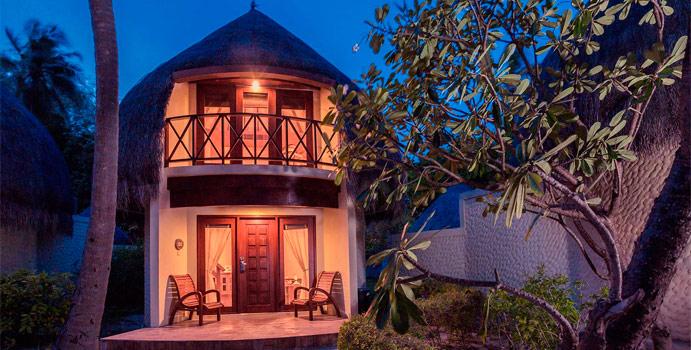 Aussenansicht Superior Beach Villa, Bandos Maldives