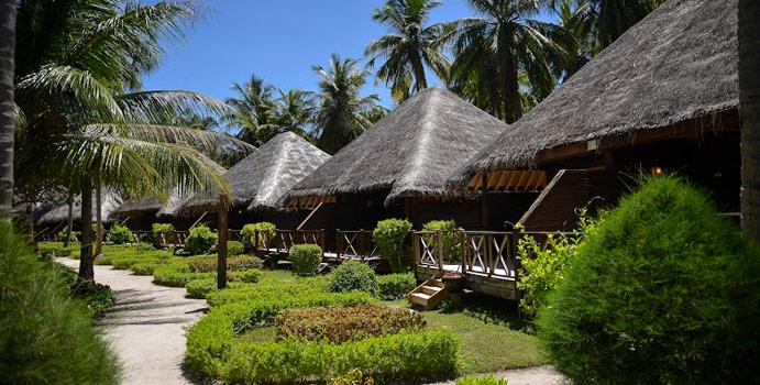Aussenansicht Garden Villa, Bandos Maldives